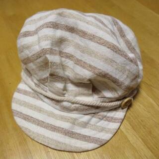 子ども 帽子 キャスケット 46㎝