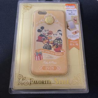 定価3685円 iPhone6s/6 ハードケース スタンドミラ...