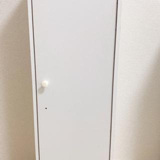 【ネット決済】薄型 扉付き 棚