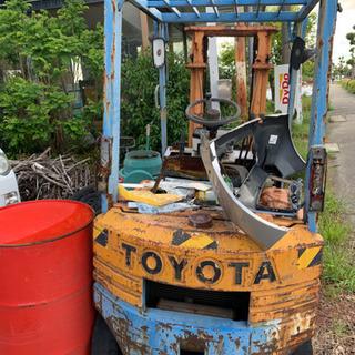 トヨタフォークリフト1.0 ガソリン