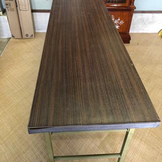 折り畳み式 長テーブル 長足