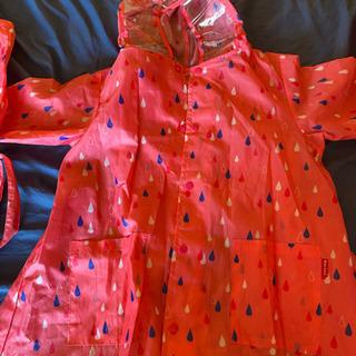 女の子用 雨ガッパ Lサイズ 取引中の画像