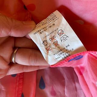 女の子用 雨ガッパ Lサイズ 取引中 - 武蔵野市