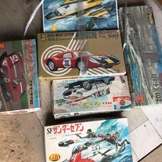 【ネット決済】昔のプラモデル6箱