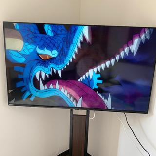 【美品】50インチ4Kテレビ 2020年製 壁掛けスタンド…