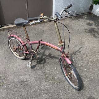 【レア品】ジャガーjaguar 折りたたみ自転車