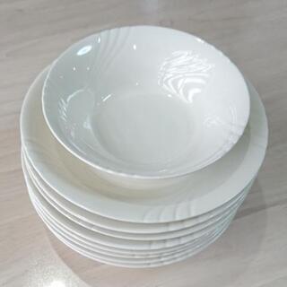 エレガンスな白いお皿セット♪76