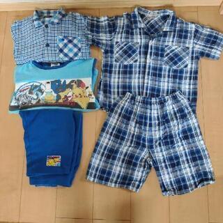 パジャマ3組、サイズ120~140