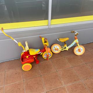 アンパンマン三輪車、アンパンマンの乗り物🚲
