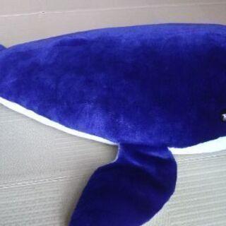 【値下げ】大きいクジラのぬいぐるみ