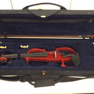 中古品 エレキバイオリン Valente -EVN-27