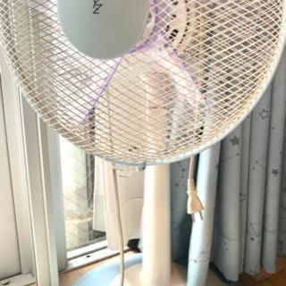 【ネット決済・配送可】[山善] 30cmリビング扇風機 (押しボ...