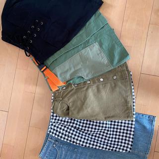 【ネット決済・配送可】スカート 5枚セット