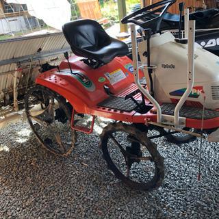 クボタ 田植え機4条 農機具