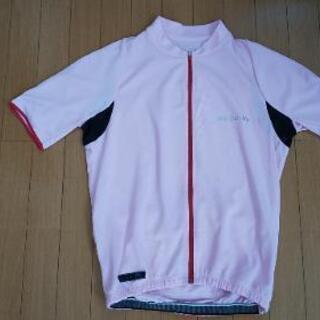 シマノのサイクルジャージ(ピンク)
