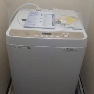 【ほとんど未使用 美品】シャープ全自動電気洗濯機 6キロタイプ ...