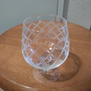 小さなワイングラス? 高さ約10センチ レトロ