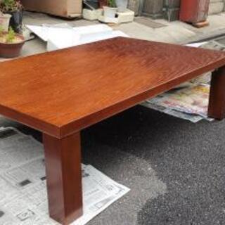 折れ脚テーブル 机 木製
