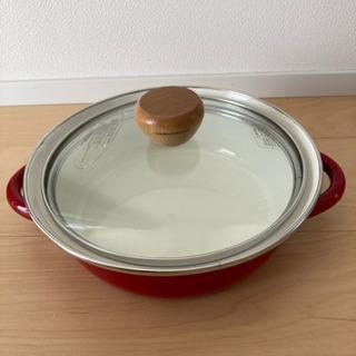 中古品⭐︎ パール金属 ホーロー鍋