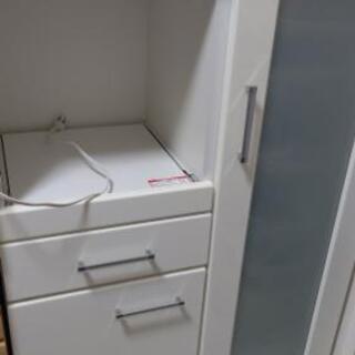 ニトリ キッチンカウンター(コンセント1口付) カップボード