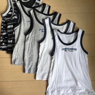 【ネット決済】ランニングシャツ 110 男の子用 ノースリーブ 肌着