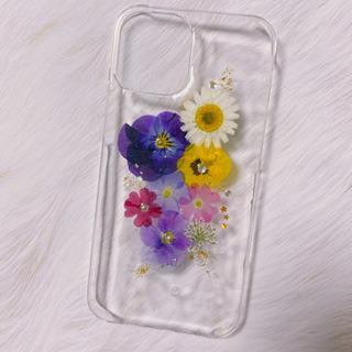 12pro押し花iPhoneケース(ハンドメイド)