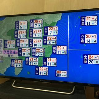 40インチ2015年製BRAVIA液晶テレビ美品