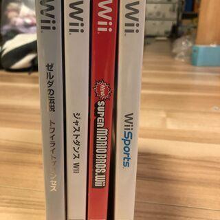 Wiiソフト1つ100円!お好きなものだけどうぞ