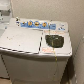 二層式 二槽式 TOSHIBA 洗濯機