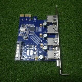 USB3.0×4ポート増設_PCI Expressインターフェー...