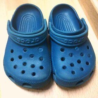 【5月9日まで最終】子供用 靴15.5cm 長靴15cm クロッ...