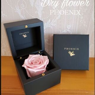 ★☆★PHOENIX プリザーブドフラワー★☆★ピンクラメ薔薇