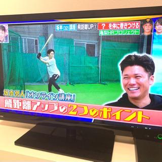 【再値下げ】東芝REGZA テレビ23型/モニター