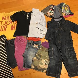 ロンパース70〜80、パンツ、Tシャツ 80センチ