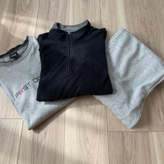 【ネット決済】【ユニクロ】メンズ フリース&ズボン Lサイズ(中古)