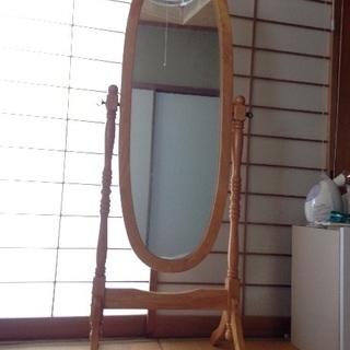 おしゃれ エレガント  鏡 姿見 全身 ミラー