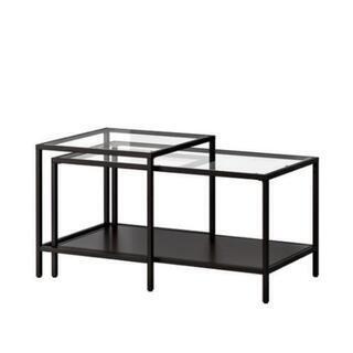 IKEA ガラス ネストテーブル