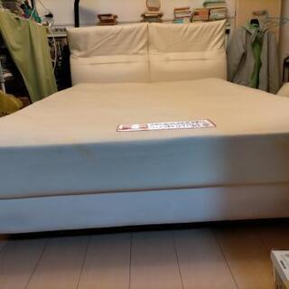 インテグラスイス低反発マットレスとベッドフレーム - 家具