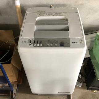 日立 全自動電気洗濯機  NW-R703 7kg 中古品
