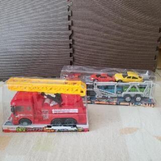 【ネット決済】消防車&キャリアカー