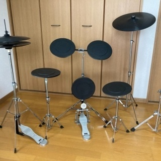 【中古】 ZENN ゼン ドラム練習キット 練習用ドラム …