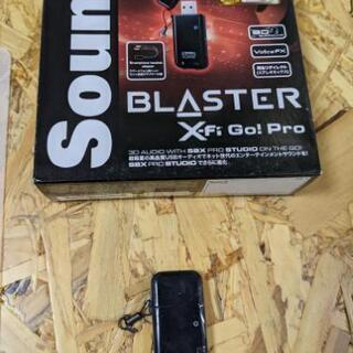 CREATIVE sound blaster x-fi go! pro