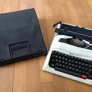 英文タイプライター olivetti LETTERA 12 箱付き