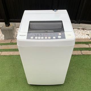 【使用少なめ】 Hisense ハイセンス 全自動電気洗濯…
