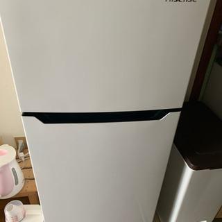 5月15日まで【冷蔵庫】HISENSE HR-B12ASの画像