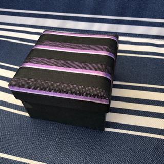 【取引中】Furbo 紫縞ネクタイセット