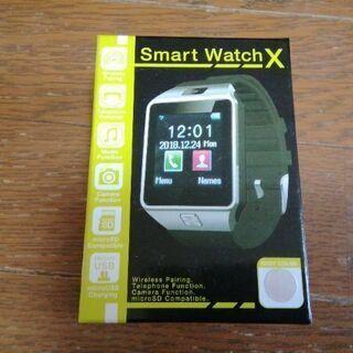 【ネット決済・配送可】Smart Watch X 新品未使用