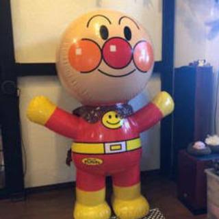 値引しました! 非売品 アンパンマン 特大 ビニール空気人形