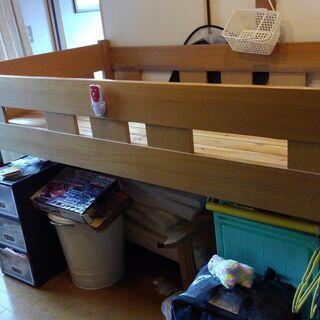 ジュニア(大人も)木製ベッド