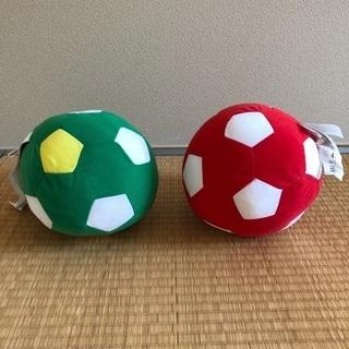 IKEA ソフトトーイ サッカーボール 2つ 未使用